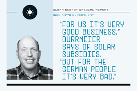 than other german organizations such as by fighting to the death germany s high priced renewable energy revolution fortune