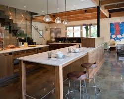 free standing kitchen island with breakfast bar freestanding kitchen island amazing houzz intended for 7