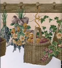 Country Baskets 76 Best Wall Paper Images On Pinterest Wallpaper Borders