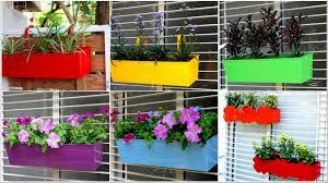 elegant railing planters home decorations insight