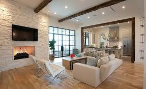 Living Room Ceiling Beams Modern Living Room Interior Design Fireplace Furniture
