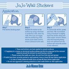 personalised name wall stickers jojo maman bebe tweet