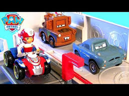 paw patrol ultimate rescue truck paw patroller disney cars mater