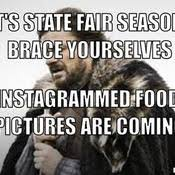 Winter Is Coming Meme Maker - state fair memes image memes at relatably com