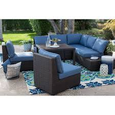 Wicker Sectional Patio Furniture by Belham Living Monticello All Weather Wicker Sofa Sectional Patio