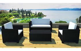 canap r sine salon de jardin r sine tress e canap 2 fauteuils et table