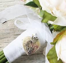 in loving memory lockets bridal bouquet locket of the locket bouquet