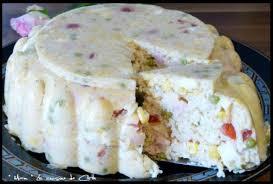 madere cuisine gâteau de riz en gelée sauce madère recette de gâteau de riz en