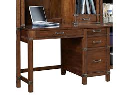 Double Pedestal Desk With Hutch by Aspenhome Canfield 50