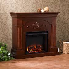 Freestanding Electric Fireplace Southern Enterprises Oliver 44 75 In Freestanding Electric