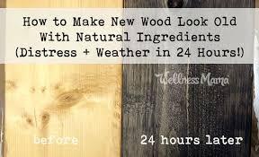 how to distress wood how to distress wood using ingredients barn