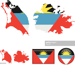 Antigua Map Antigua And Barbuda Map Flag Vector Art Getty Images
