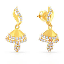 malabar earrings buy gold earring for women online malabar gold diamonds