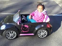 kid trax vw beetle convertible 12 volt battery powered ride