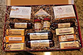 sausage gift baskets sausage and cheese gift baskets gourmet canada etsustore