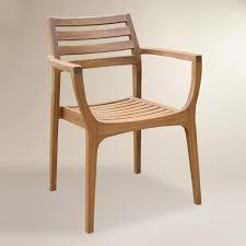 Wood Patio Chair by Wood Patio Furniture World Market Ideas Gyleshomes Com