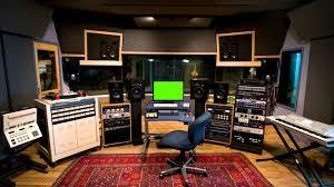 Music Studio | music studio small screen green screen royalty free footage