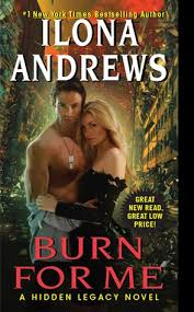 review burn for me by ilona andrews