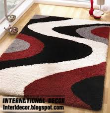 Modern Black Rugs Home Exterior Designs Contemporary Rug Styles Modern Rugs Models