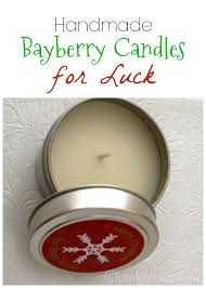 bayberry candles good luck for the new year learning gift and