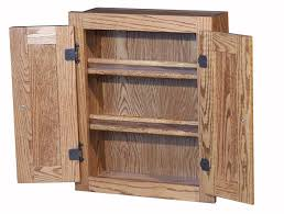 Wooden Spice Cabinet With Doors Made Oak Spice Cabinet With Raised Panel Doors