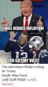 Voting Memes - iwill reduce inflation memes you got my vote the real reason