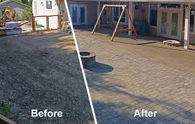 Patio Paver by Paver Patio Extension In Boston Harbor Ajb Landscaping U0026 Fence