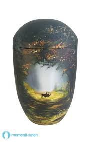 funeral urns for sale mementi sea urn deer in forest