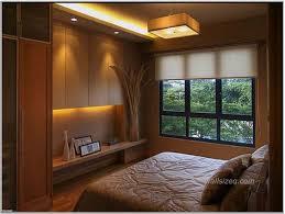 casual designs furniture small bedroom nice windows hanging lamp