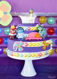 inside out cakes inside out party sprinkle some