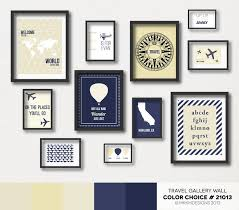 27 best travel gallery wall color choices images on pinterest