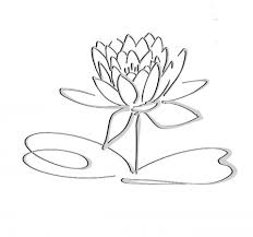 Simple Lotus Flower Drawing - easy drawings of wolves in pencil u203a copay online