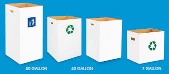 Tall Trash Can by Trash Cans In Stock Uline