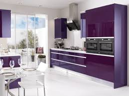 Interior Design Ideas For Kitchen Color Schemes Kitchen Modern Kitchens Designs Kitchen Colors Purple White