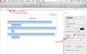 apa template for apple pages how to do mla format using pages on mac mla format