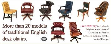 Office Chair Free Delivery Desk Typical English Decorations Classic English Swivel Office