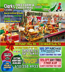 clark u0027s christmas tree farm and christmas shop