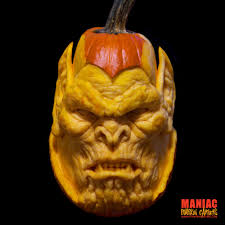 professional halloween props maniac pumpkin carvers