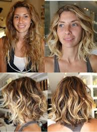 medium length easy wash and wear hairstyles hair makeover before and after i m not usually one for cutting