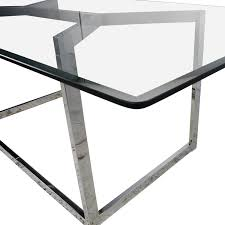 cb2 glass table home table decoration