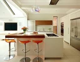 raised kitchen island orange bar stools moeslah co