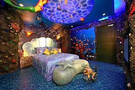 Purple Themed Bedroom - 15 dazzling mermaid themed bedroom designs for girls rilane