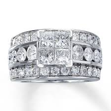www jared engagement rings jared engagement ring 3 1 2 ct tw diamonds 14k white gold