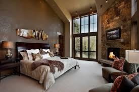 chambre à coucher cosy les meubles rustiques traditionnels créent une ambiance chaleureuse