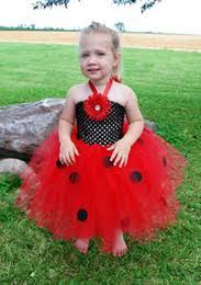 Ladybug Toddler Halloween Costume Turtleneck Dress Party Turtleneck Dress Party