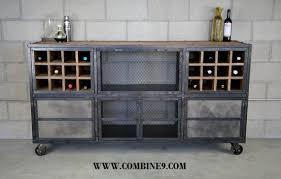 Bar Cabinet Modern Liquor Cabinet Bar Modern Industrial Reclaimed Wood Custom