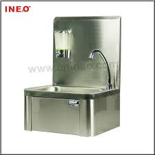 restaurant hand washing sink knee operated hand washing sink hand sink wash sink wall mounted
