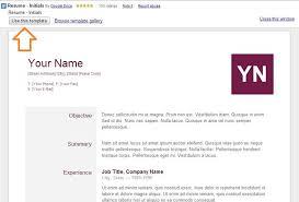 resume on google docs resume templates