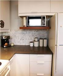 kitchen microwave ideas 32 kitchen shelf for microwave 25 best ideas about microwave shelf