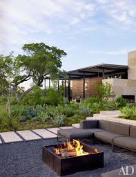Contemporary Firepit Backyard Landscaping Design Ideas Fresh Modern And Rustic Pit